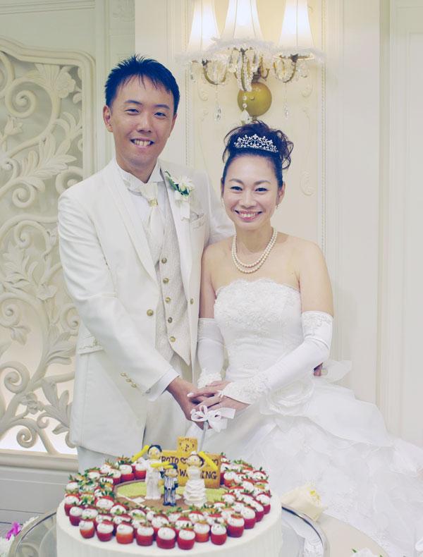 結婚式 ムービー|お客様の声写真 T様写真