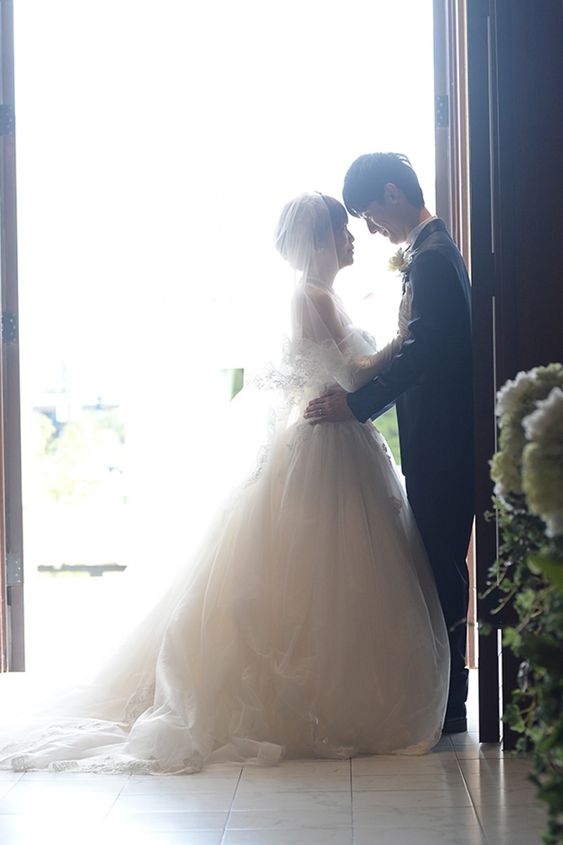 結婚式 ムービー お客様の声 E夫妻1