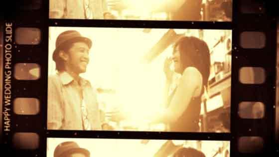 結婚式 オープニングムービー|フィルムスライド4