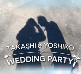 結婚式オープニングムービー|クリスタルオープニング2