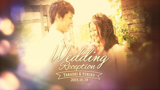結婚式 オープニングムービー ロマンティック1